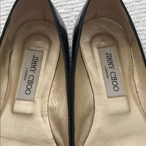 Jimmy Choo Shoes - Jimmy Choo black patent flats